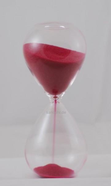 10-Minuten-Sanduhr roter Sand