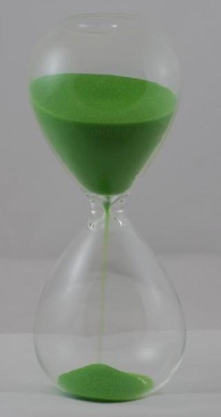 5-Minuten-Sanduhr grüner Sand